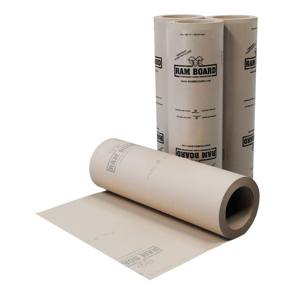 0.375 in. x 3 ft. x 100 ft. Ram Board Temporary