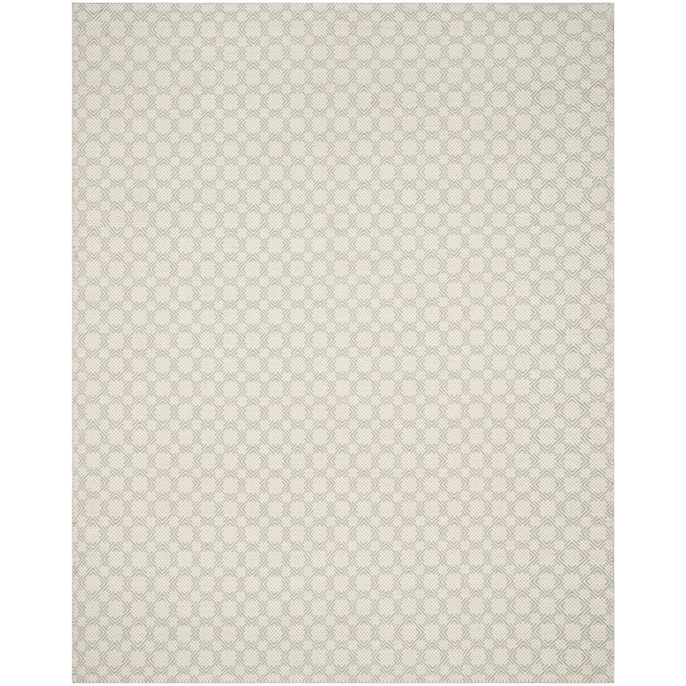 Safavieh Cotton Kilim Gray/Ivory 8 Ft. X 10 Ft. Area Rug