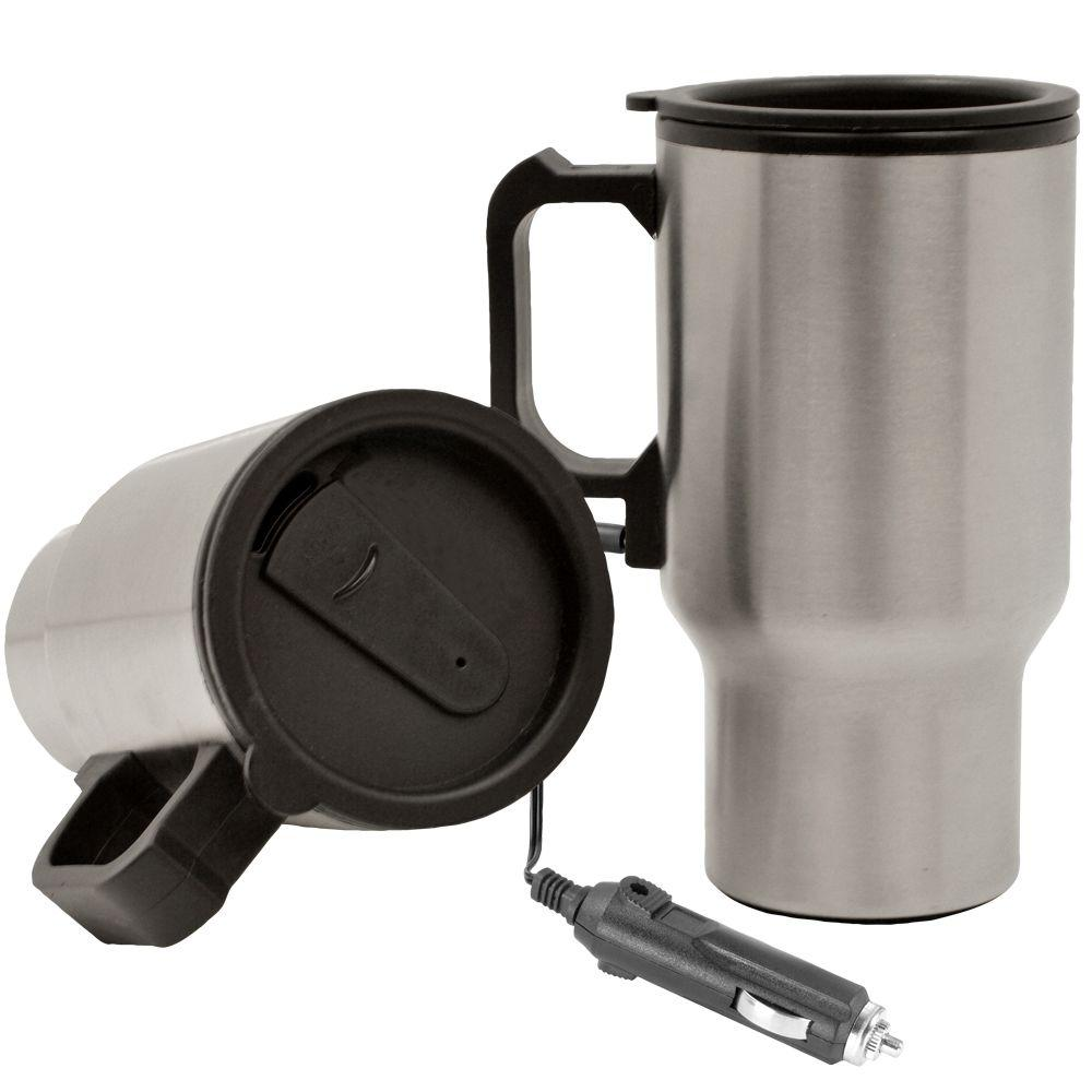 Rally 12-Volt Portable Heated Coffee Mug