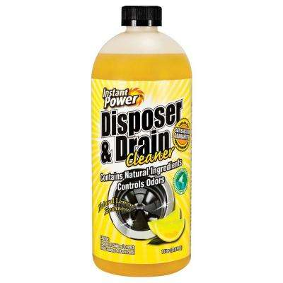 33.8 oz. Disposal and Drain Cleaner Lemon