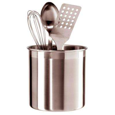Jumbo Utensil Holder in Stainless Steel