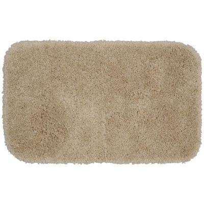 Serendipity Linen 24 in. x 40 in. Washable Bathroom Accent Rug