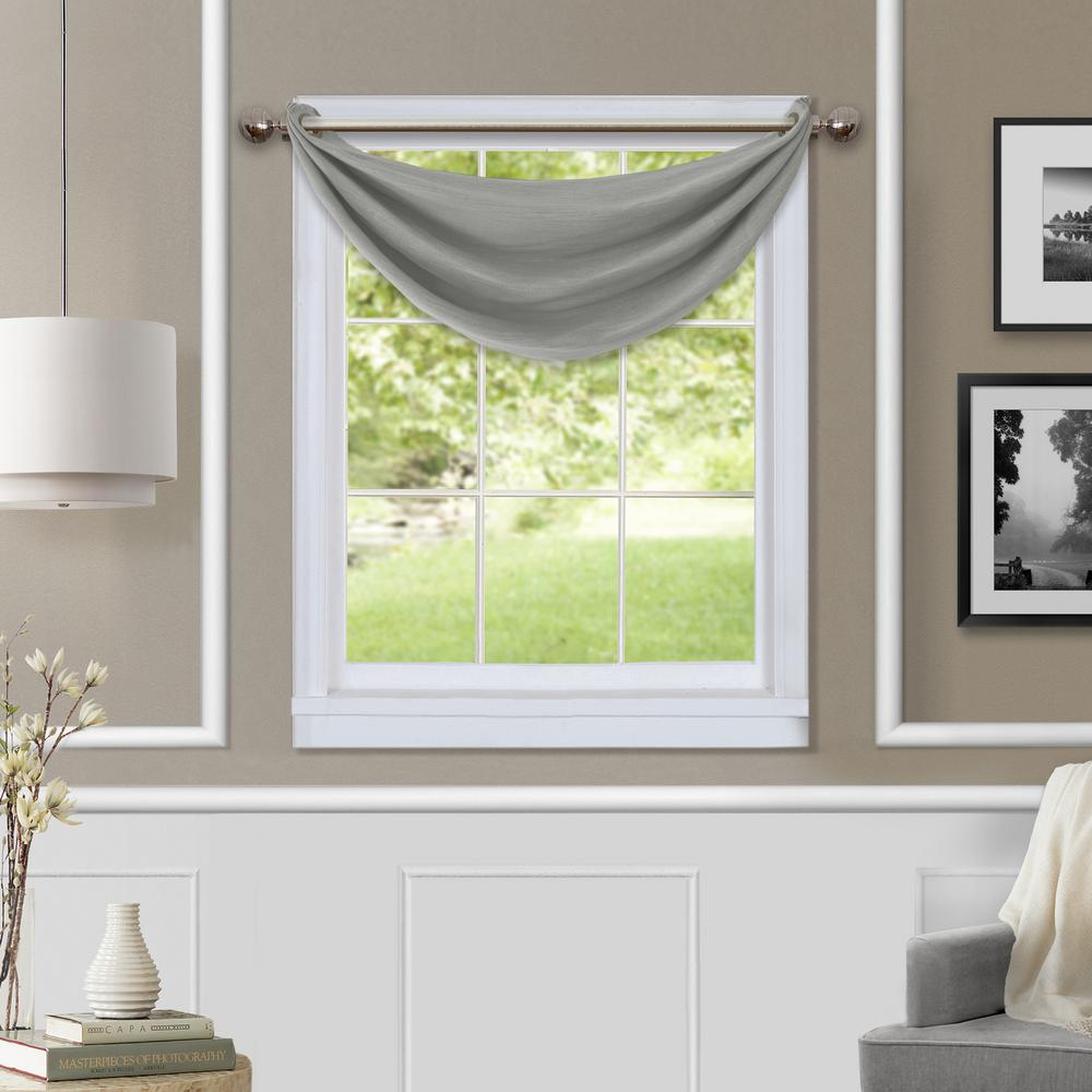 Valances Window Treatments Brooke Blackout Waterfall Window Valance