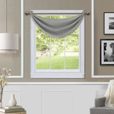 Brooke Blackout Waterfall Window Valance
