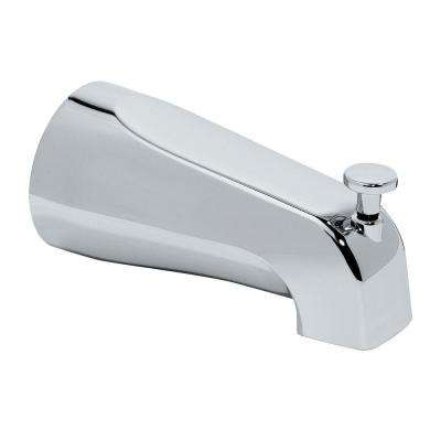 Diverter Slip-On Tub Spout, Polished Chrome