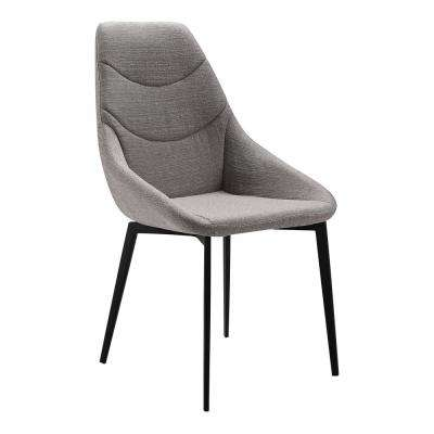 Castle Gray Fabric Dining Chair - Set of 2