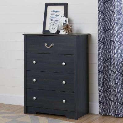 Aviron 4-Drawer Blueberry Chest