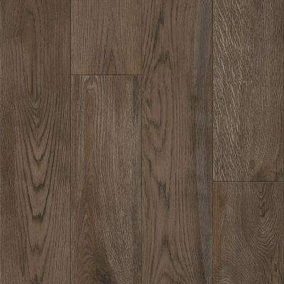 American Home Smokehouse Brown 6.5 in. x 48 in. Glue Down Luxury Vinyl Plank (34.66 sq. ft. / case)