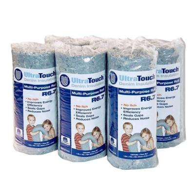 16 in. x 48 in. Denim Insulation Multi-Purpose Roll (6-Pack)