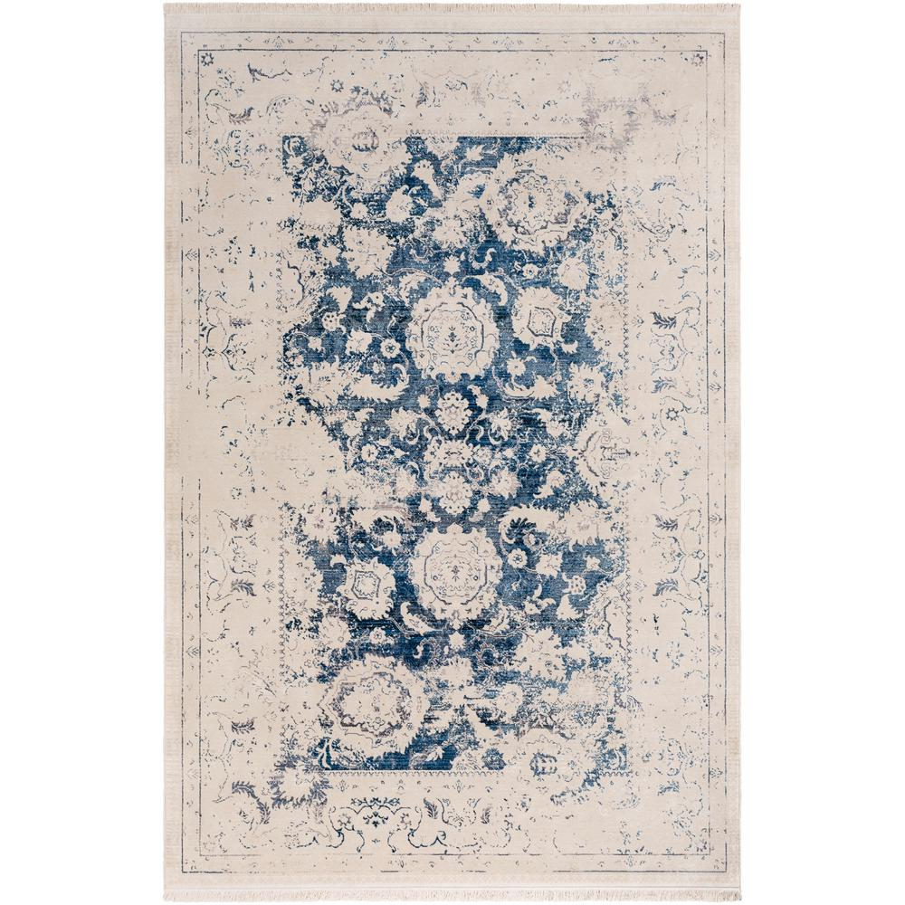 Artistic Weavers Theia Navy 9 ft. x 12 ft. 10 in. Distressed Oriental Area Rug
