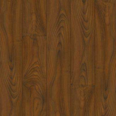Autumn Mahogany 8 mm Thick x 5.31 in. Wide x 47-49/64 in. Length Click Lock Laminate Flooring (17.65 sq. ft. / case)