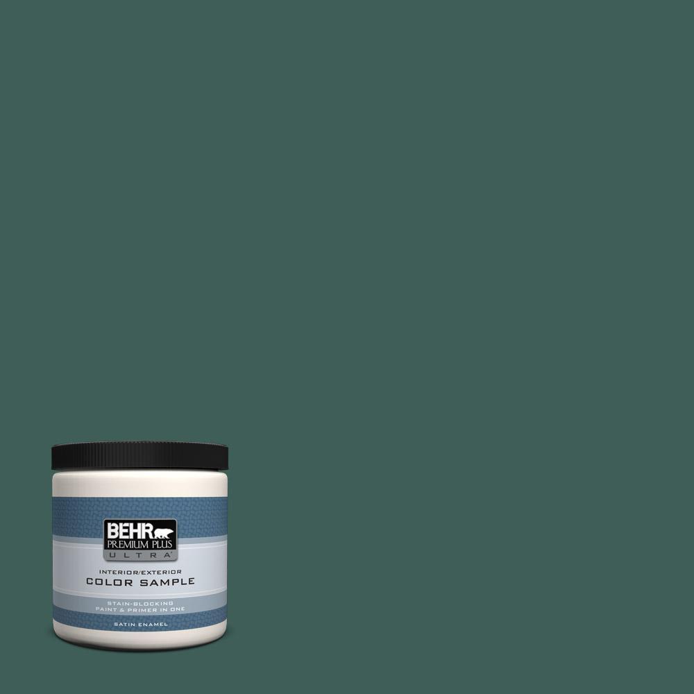 Behr Premium Plus Ultra 8 Oz T18 20 Equilibrium Satin