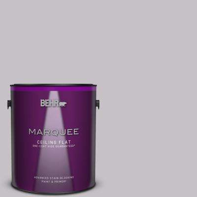 1 gal. #MQ5-32 Such Melodrama One-Coat Hide Ceiling Flat Interior Paint and Primer in One