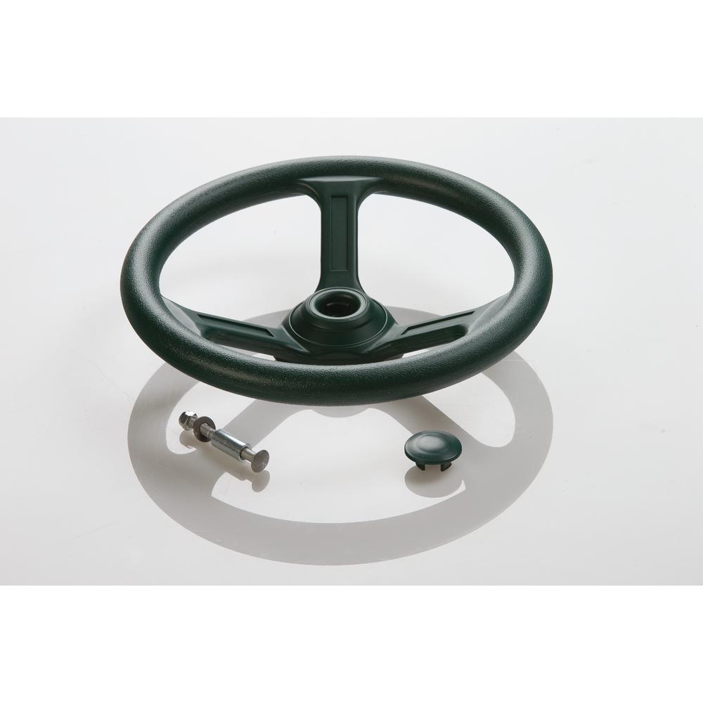 Steering Wheel- Green