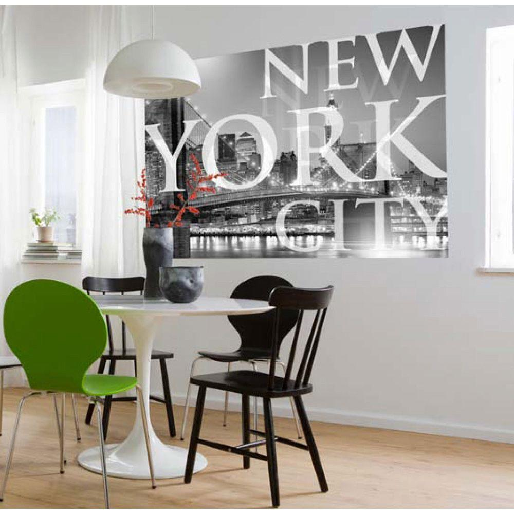 Komar 50 in x 72 in new york city wall mural 1 614 the home depot new york city wall mural amipublicfo Images