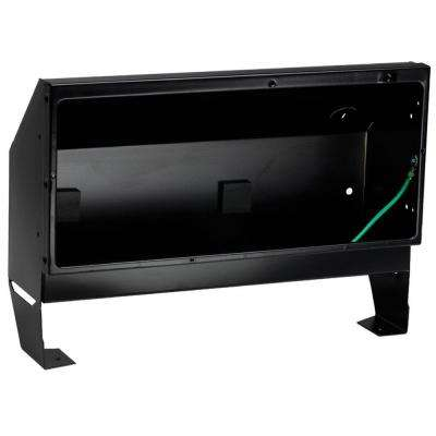 Register Series Recess Mount Wall Can Only in Black