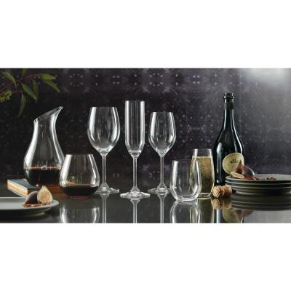 Wine Series 8.13 oz. Champagne Glass (4-Pack)