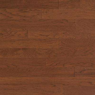 Take Home Sample - Vintage Hickory Mocha Engineered Click Hardwood Flooring - 5 in. x 7 in.