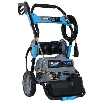 2,000 PSI, 1.6 GPM Electric Pressure Washer with Hose Reel and Built-in Soap Tank