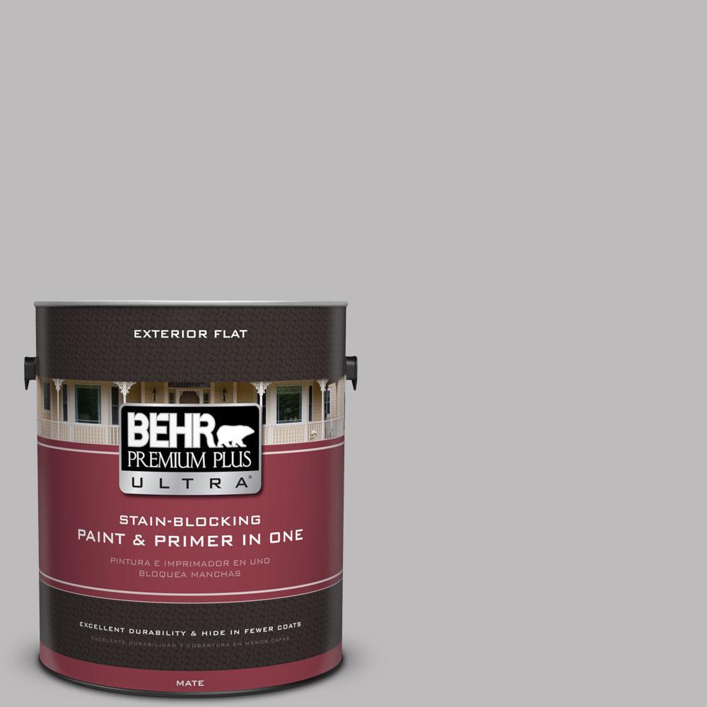 BEHR Premium Plus Ultra 1-gal. #PPU16-11 Grape Creme Flat Exterior Paint