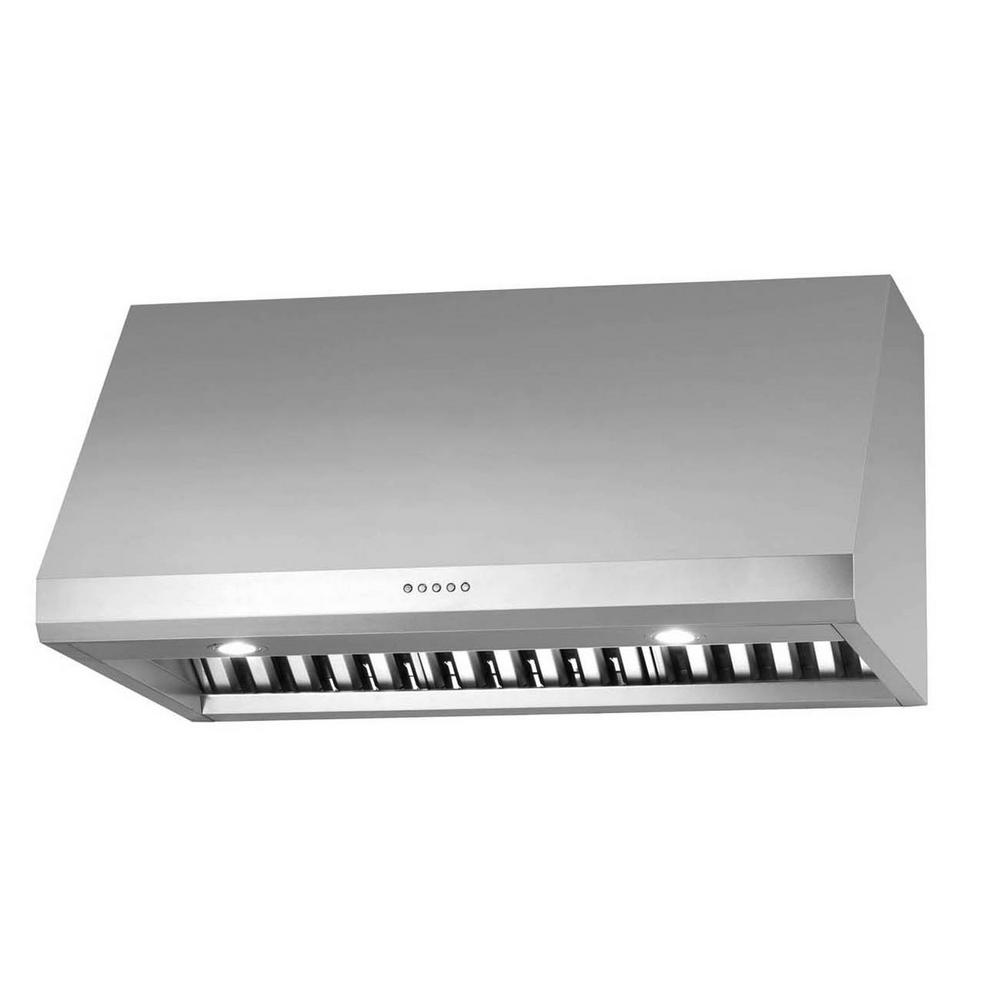 Ancona Pro UC LED 30 In. Under Cabinet Range Hood In Stainless Steel