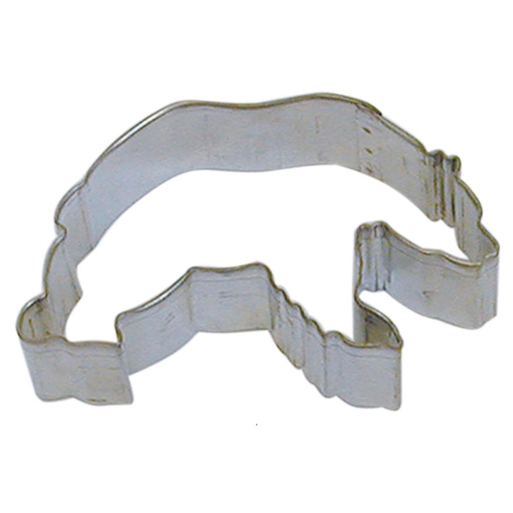 01155644d2cb CybrTrayd 12-Piece Grizzly Bear 3.5 in. Tinplated Steel Cookie Cutter    Recipe-RM-1232-12LOT - The Home Depot