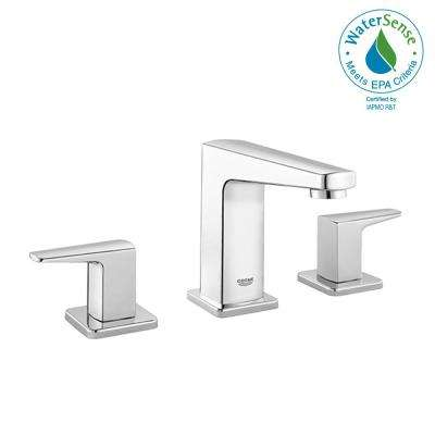 Widespread Two-Handle Bathroom Faucet in Starlight Chrome