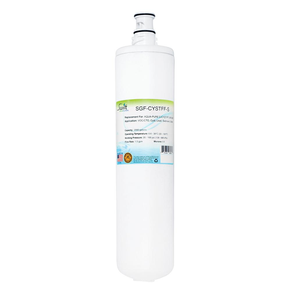 Swift Green Filters SGF-CYSTFF-S Replacement Water Filter for Aqua Pure C-Cyst-FF
