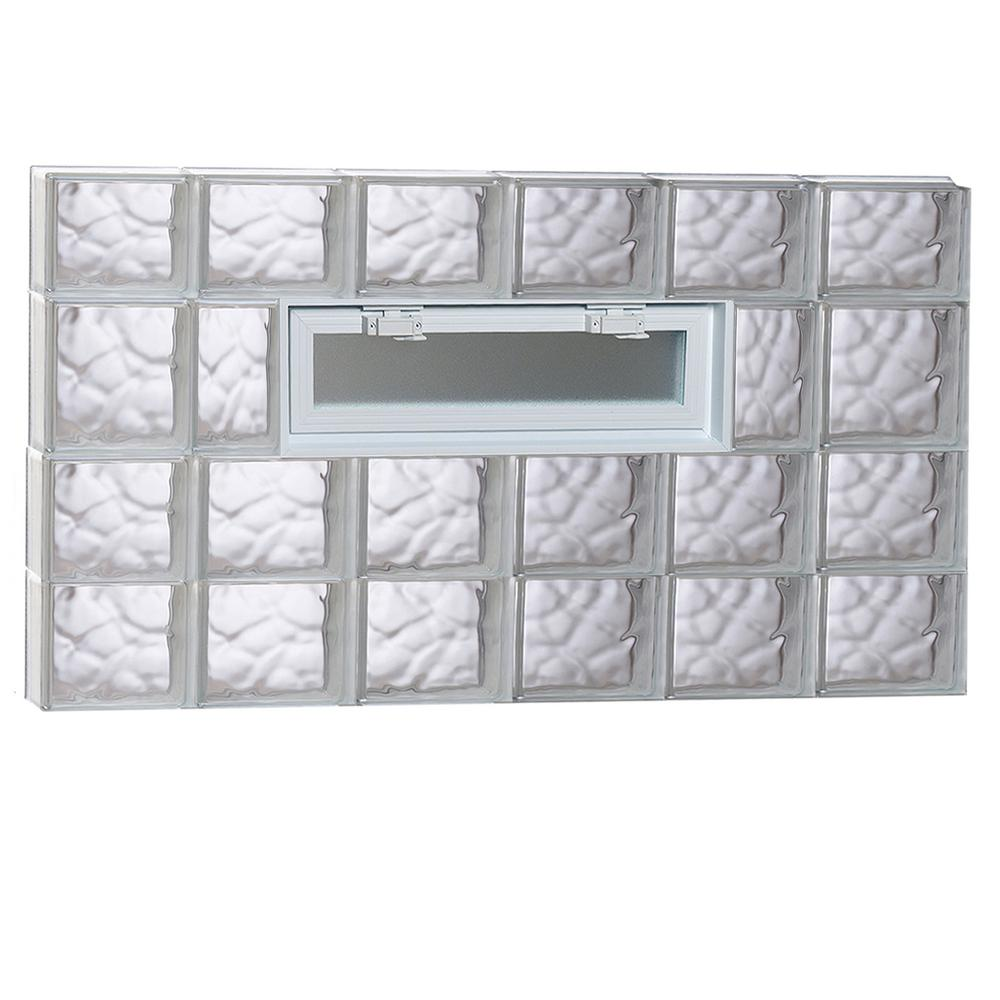 Home depot sidelights compare prices at nextag for Glass block windows prices