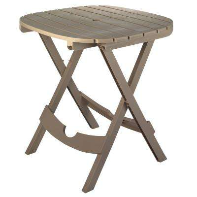 Oval resin patio tables patio furniture the home depot quik fold portobello resin outdoor cafe table watchthetrailerfo