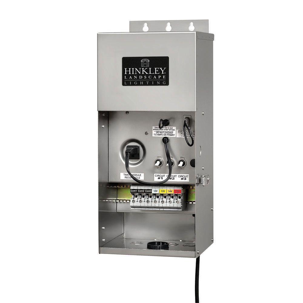 12-Volt 900-Watt Stainless Steel Multi-Tap Transformer
