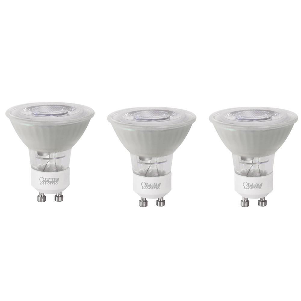 35-Watt Equivalent Daylight (5000K) MR16 GU10 Bi-Pin Base LED Light Bulb (3-Pack)