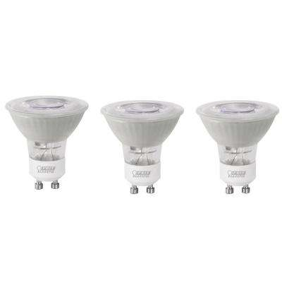35-Watt Equivalent Daylight (5000K) MR16 GU10 Bi-Pin Base LED Light Bulb (3-Pack)
