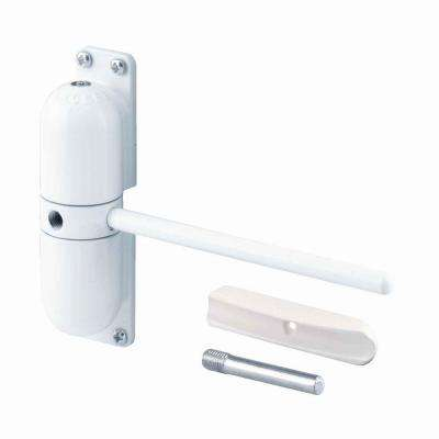 Safety Spring Door Closer, White