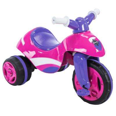 6-Volt 12 in. Girls 2-in-1 Trike