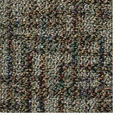 Carpet Sample - Business Case - Color Oatmeal Pattern 8 in. x 8 in.