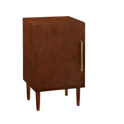 Everett Mahogany Record Player Stand
