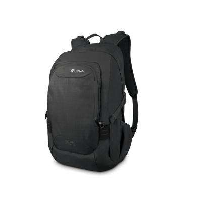 Venturesafe 20 in. Black Backpack with Laptop Compartment