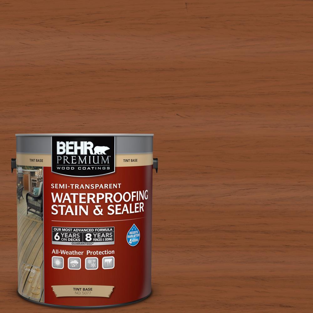 St 122 Redwood Naturaltone Semi Transpa Waterproofing Exterior