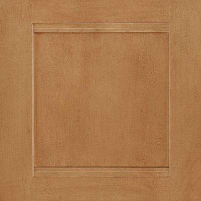 14-1/2x14-9/16 in. Cabinet Door Sample in Del Ray Maple Spice