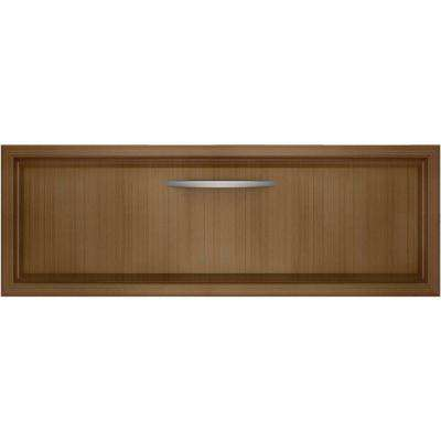 27 in. Warming Drawer in Overlay Panel-Ready