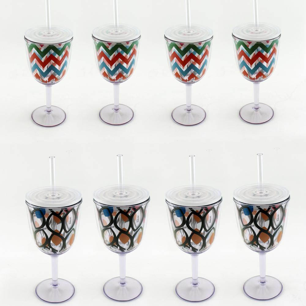 8-Piece Assorted Drinkware Set