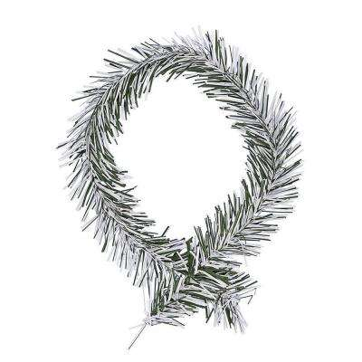 18 in. Frosted Artificial Garland Ties (40-Pack)