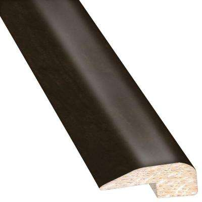 Maple Midnight 0.88 in. Thick x 2 in. Wide x 78 in. Length Hardwood Carpet Reducer/Baby T-Molding