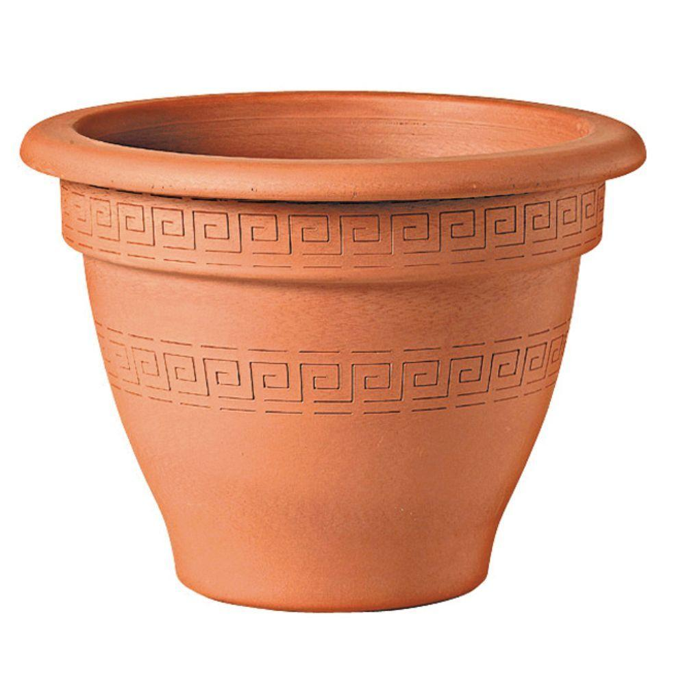 5-1/2 in. Round Terra Cotta Clay Bell Pot