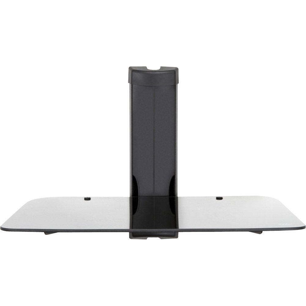 MW Mounts Wall Mountable Glass Shelf in Brown Box Installer Packaging-DISCONTINUED
