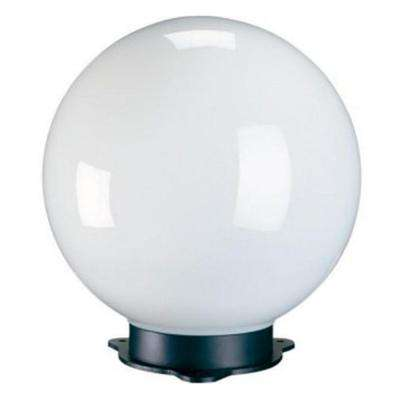 8 in. Dia Magic White Globe Programmable