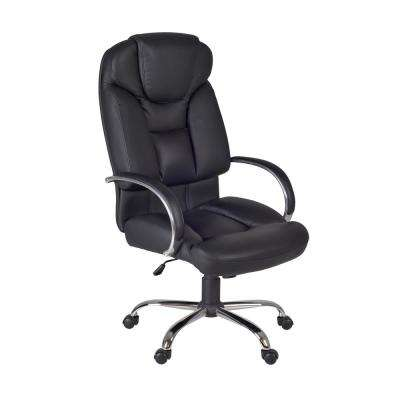 Goliath Black Big and Tall Swivel Chair