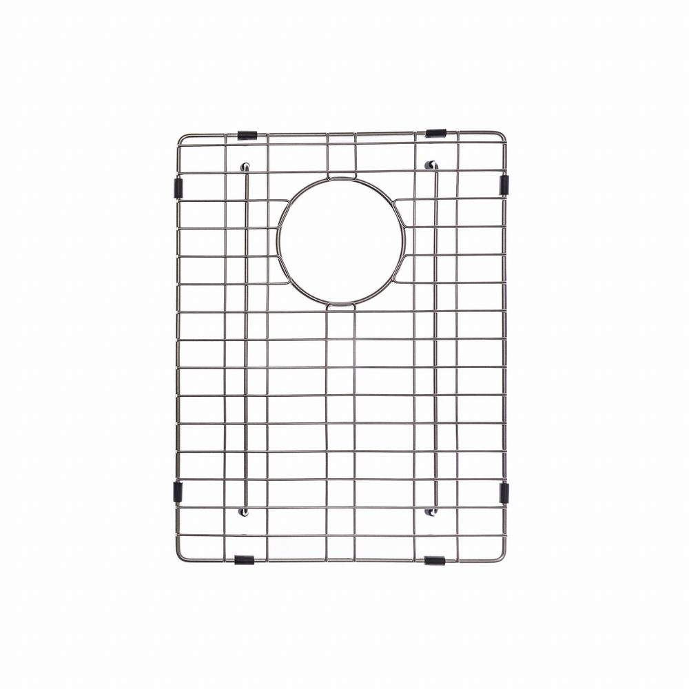 KRAUS 13 in. x 19 in. Bottom Sink Grid in Stainless Steel