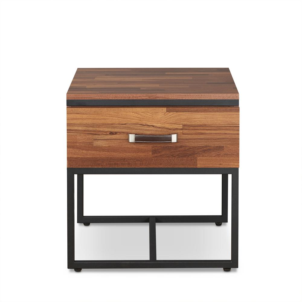 walnut end table. ACME Furniture Sara I Sandy Black And Walnut End Table O